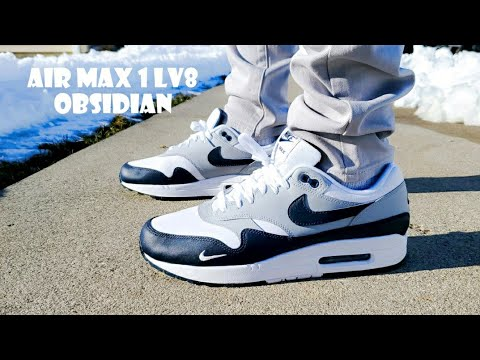 Air Max 1 LV8 Obsidian Unboxing & On Feet