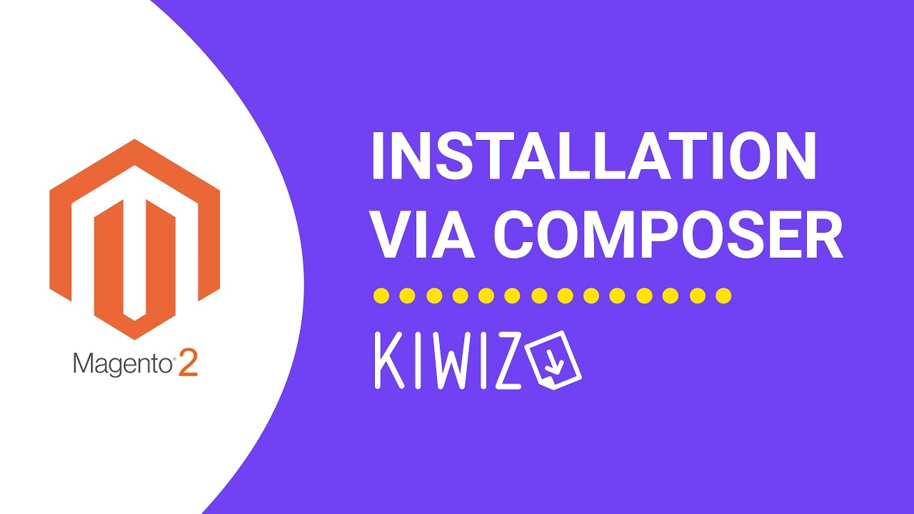 Installer Kiwiz via Composer - Certification de facturation Kiwiz - Magento 2