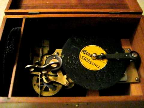 1800 s Thorens Music Box