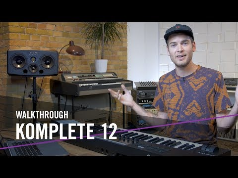 Mad Zach plays KOMPLETE 12 | Native Instruments - YouTube