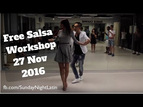 Free Salsa Workshop 27 Nov 2016 - Sunday Night Latin Singapore