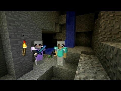 Let's Play Minecraft - Jaskiniowa Ekspedycja; Chyba Nie Powinnyśmy Bawić Się Ogniem ;)