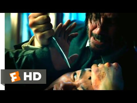 John Wick: Chapter 3 - Parabellum (2019) - Throwing Knives Scene (1/12) | Movieclips