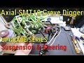 Axial SMT10 Grave Digger Upgrade Series - Part 4 - Suspension And Steering Links And Servo