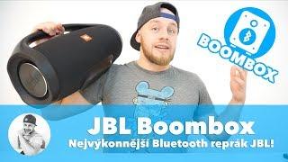 NEJVÝKONNĚJŠÍ Bluetooth reproduktor od JBL ti zboří barák... !!! (Unboxing/Recenze JBL Boombox CZ)