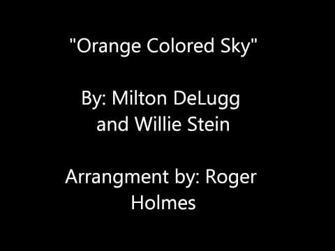 Orange Colored Sky (Karaoke Cover)   UMASS Amherst Vocal Audition