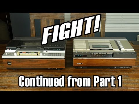 Why Sony's Beta Videotape System Failed--Part 2