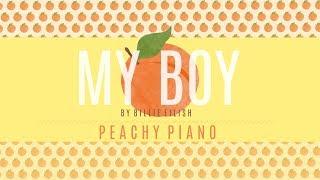 My Boy - Billie Eilish | Piano Backing Track
