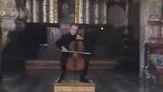 Daniil Shafran Plays Bach's cello suite no.2