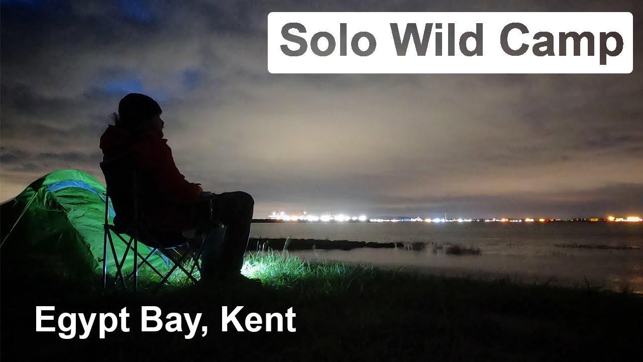 Solo Wildcamp Egypt Bay Kent Cooking Lambs Heart Thames Estuary Vango Soul Deserted Beach Youtube
