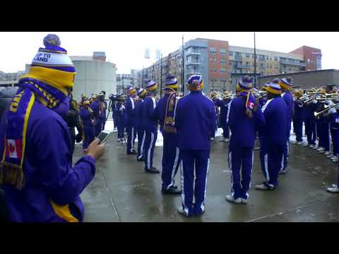 St.Augustine HIGH School Marching Band 100 @DR.Martin Luther King jr Day cincinnati 2018