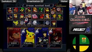 Smashkatoon 22 - SpikeyMike & Mimic (Blue) vs Wahl & Anglor (Red)