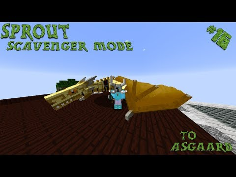 Minecraft 1.10.2 Sprout Ep. 16: The Father of Dragons Emerges!