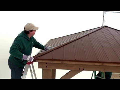 Yardistry Wood Gazebo Helpful Hints