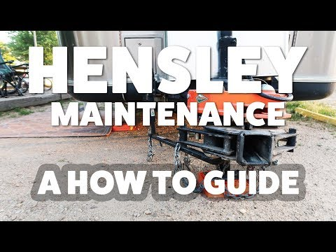 Hensley Hitch Maintenance: A Step-by-Step How To Guide