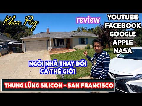 Thung Lũng Silicon! - Khoa Pug Thăm Nhà CEO Apple Steven Jobs! - Cua Biển, Sushi Ở San Francisco Mỹ!