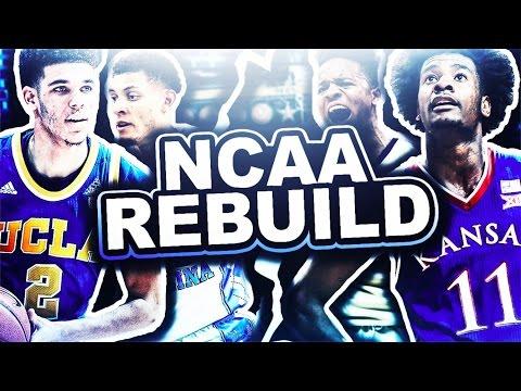 NCAA 2K17 REBUILD!