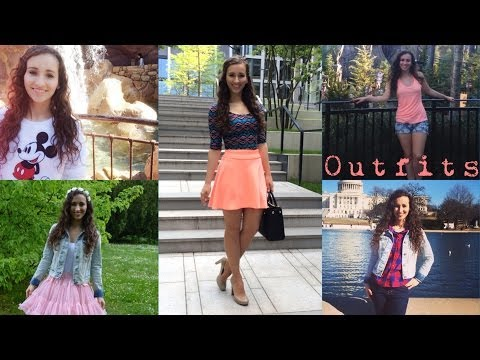 ♡ My favorite outfits Summer ♡