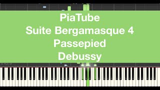 "How To Play ""Suite Bergamasque 4 Passepied - Debussy"" Piano Tutorial"