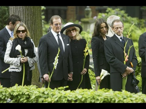 funeral of Sir Roger Moore, James Bond actor, dies aged 89