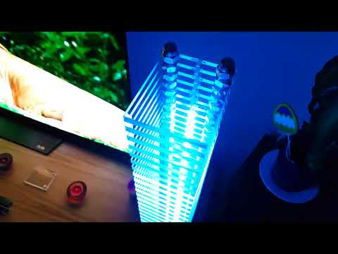 LED Tower - Music Reactive Lamp