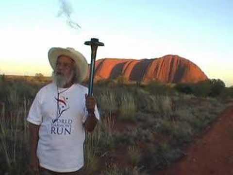 Bob Randall, Australian Patron 2008 World Harmony Run