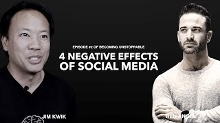 Episode 2: Jim Kwik On The Top 4 Negative Effects of Social Media on Mental Health