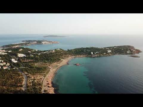 Fly over Vouliagmeni, Athens riviera
