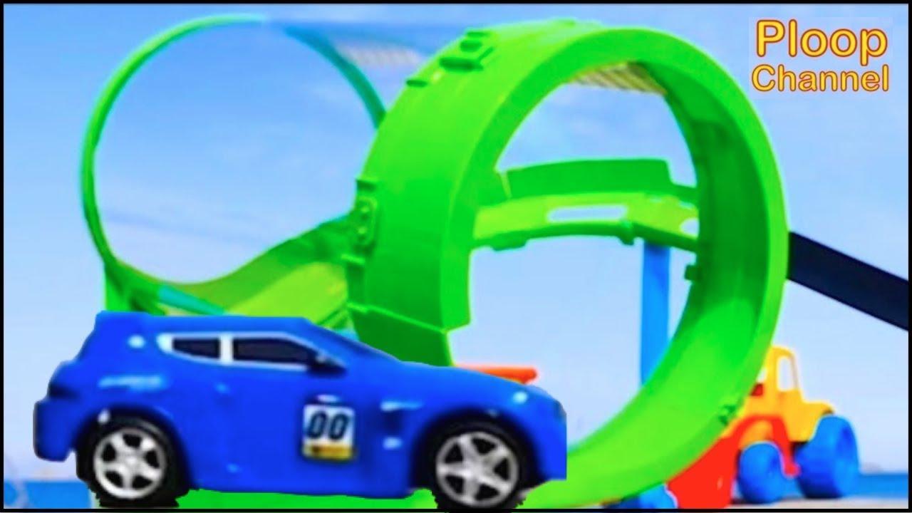 Bussy Speedy Seaside Race Track Bburago Toy Cars For Children