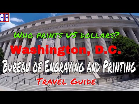 Washington, D.C | Bureau of Engraving and Printing | Tourist Attractions | Episode# 10