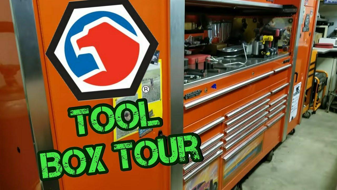 Matco Tool Box/Garage Tour
