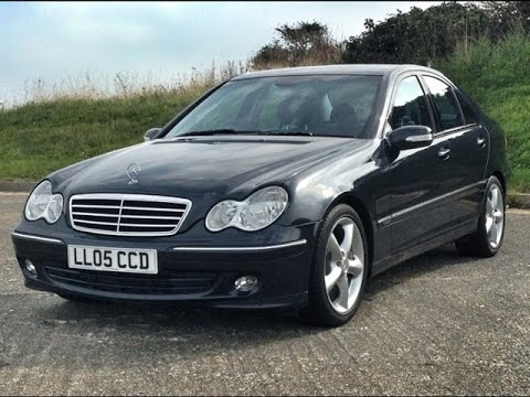 mercedes benz c200 kompressor autostation sussex youtube. Black Bedroom Furniture Sets. Home Design Ideas