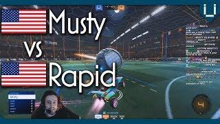 Famous Reddit Boi vs Speedy Boi | Musty vs Rapid | Rocket League 1v1