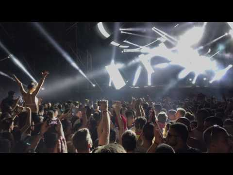 [4K] Paul Kalkbrenner dropping last track Aaron live at Exit Dance Arena
