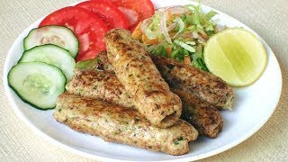 Cheese Filled Chicken Seekh Kebab Recipe  | Chicken Cheese Seekh Kebab | Seekh Kabab