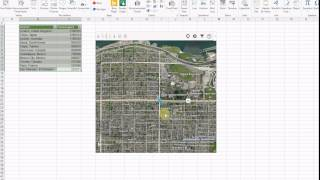 EXCEL Apps: 2.  How to Use Bing Maps