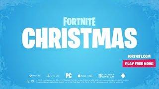 CHRISTMAS 2018 TRAILER! (Fortnite Battle Royale Christmas Update Trailer)