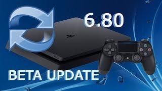 PS4 UPDATE 6.80 BETA PREVIEW REVELADO