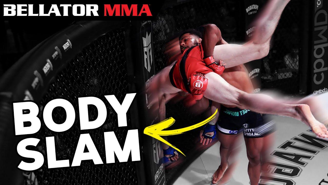 HUGE BODY SLAM! TOP Finishes August   Bellator MMA