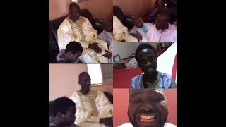 Magal 2018: Serigne Ahma Mbacké zappe Niang kharagne Lô et met boucher(Ketchep) à ses côtés