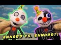 Five Nights at Freddy's Ennard vs Ennard?? FnaF Funko Crazy Plush Unboxing Review!