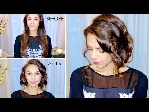 Chic Faux Bob Hair Tutorial ♥ (Great for Beginners!) - YouTube