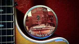 Roosters Apple Pine Cider Pomade Review - Side Part/wavy Hair