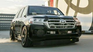 ランクルが2000馬力にパワーアップ!時速370キロ達成で世界最速SUVに!