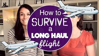 Gambar cover HOW TO SURVIVE A LONG HAUL FLIGHT w/ Love and London