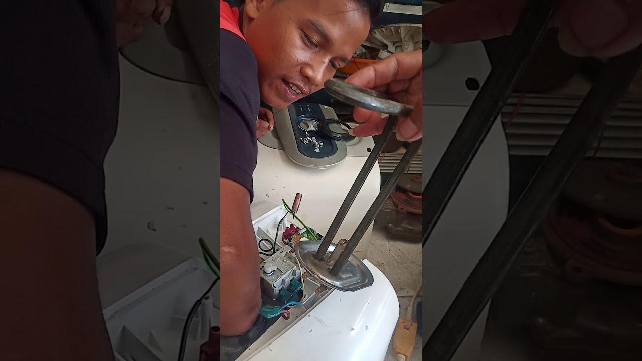 Cara Memperbaiki Water Heater Ariston Yg Tidak Panas Youtube