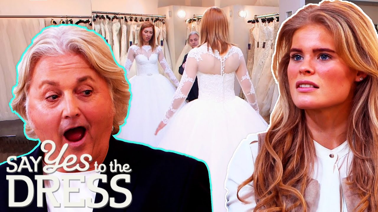 """Bride """"Who Hates Everything"""" Tries On Every Dress At Confetti and Lace! 