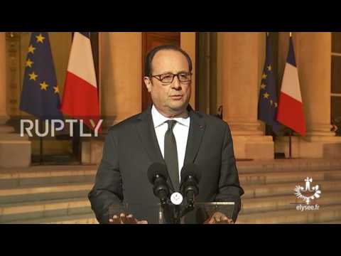 France: Paris shooting is 'terrorist' related - Hollande