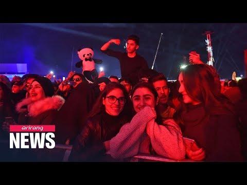 Saudi Arabia holds massive dance music festival