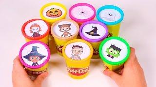 🎁 BOTES PLAY DOH 🎁 Disney Jr, Miles, Doctora Juguetes, Jake el Pirata   Sorpresas en Español
